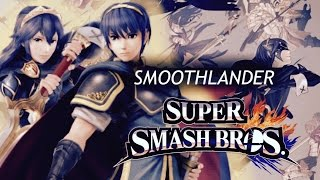 """Smoothlander"" custom equipment frame comparison with Marth & Lucina [Smash 4]"