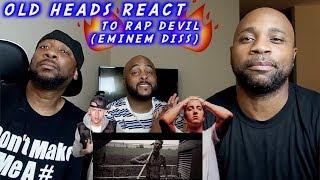 Video DADS REACT   MGK DISSES EMINEM (RAP DEVIL)   HE WANT ALL THE SMOKE !! MP3, 3GP, MP4, WEBM, AVI, FLV Januari 2019