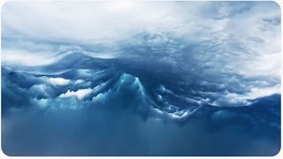 Veamos un océano en el cielo. (Imágenes reales de nubes de inestabilidad a cámara rápida)