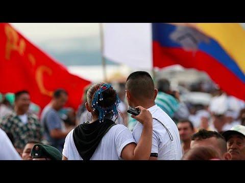Κολομβία: «Πράσινο φως» από τους αντάρτες FARC για την ειρηνευτική συμφωνία