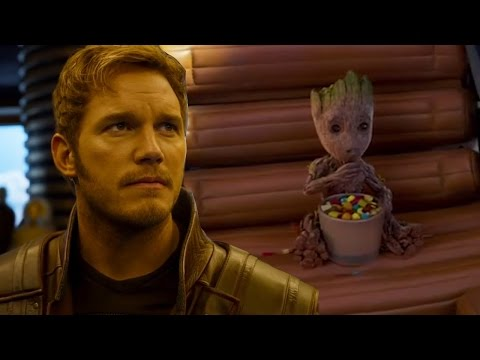 New Guardians of the Galaxy Vol 2 Trailer Introduces Star-Lord's Dad & More Baby Groot