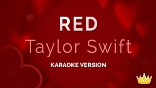 Taylor Swift - Red (Karaoke Version)