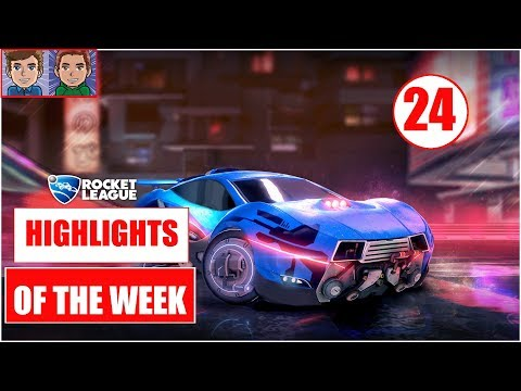 Rocket League Best RL Highlights #24