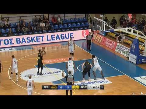 Basket League 2019-2020: ΡΕΘΥΜΝΟ-ΑΡΗΣ | 30/11/2019 | ΕΡΤ