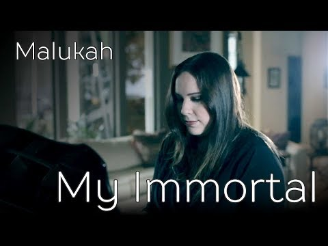 "Evanescence  ""My Immortal"" Cover by Malukah"