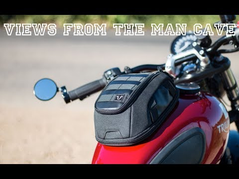 SW-Motech Legend Gear Tank Bag Review - Perfect for your Triumph Modern Classic