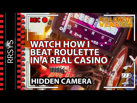 Roulette UK Casino BIG WIN Hidden Camera / FULL UNCUT
