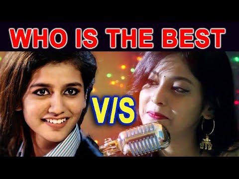 Video Priya Prakash Vs Rojalin Sahu ★ with mere raske kamar song ★ Who is the best download in MP3, 3GP, MP4, WEBM, AVI, FLV January 2017