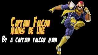 Me as a Captain Falcon main.