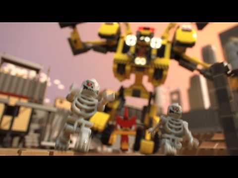 LEGO MOVIE - Emmet építőrobotja