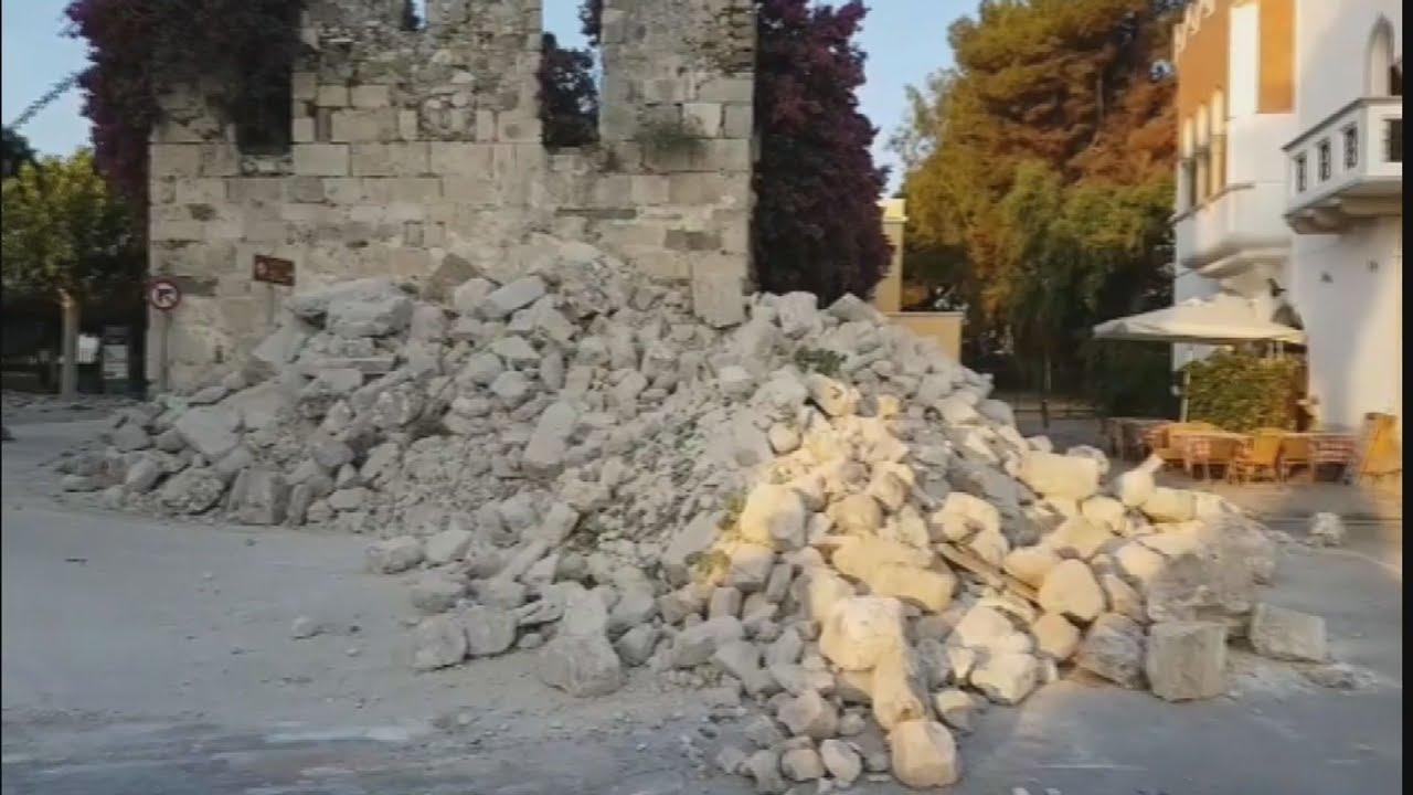 Ισχυρός σεισμός 6,4 ρίχτερ στην Κω