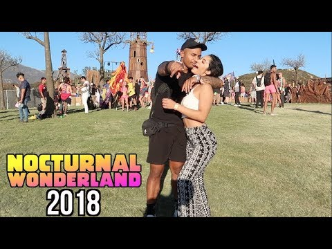 Stealing Kisses At NOCTURNAL Wonderland 2018! (Mini-Movie)