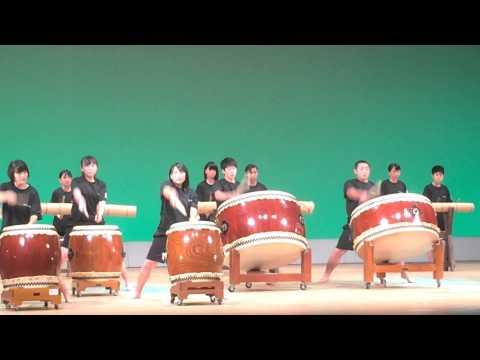 20150809鞍手中学校 スクールフェスタ 南陵太鼓