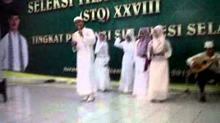 orkes Gambus qasidah modern  Shautul islam Makassar - Hasby (Yodan)