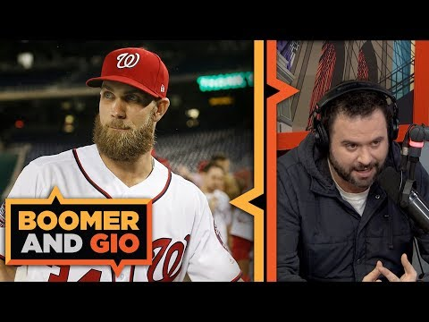 Video: Bryce Harper and Manny Machado NEED to Sign Soon | Boomer and Gio