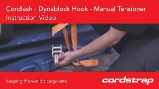 Cordstrap | 9 Cordlash + Dynablock Hook + Manual Tensioner