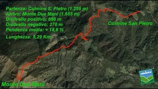 Dalla Culmine San Pietro al Monte Due Mani