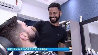 Bauru: relax na hora da barba