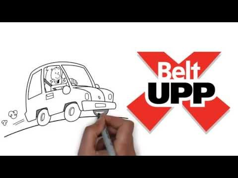 BeltUpp Car-Seat Safety Strap - use with Group 2 car seats