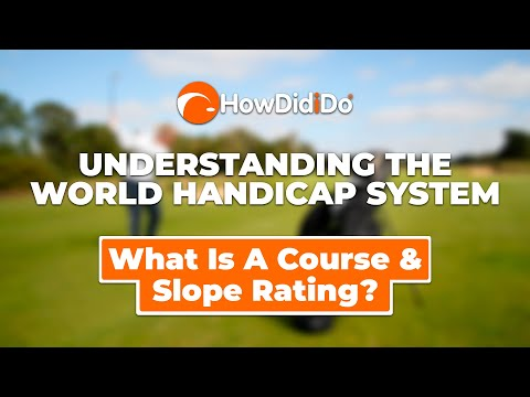 Episode 3: Slope Rating & Course Rating | Understanding WHS with HowDidiDo