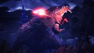 Monster Hunter World: Iceborne - Ebony Odogaron Boss Fight (Solo / Longsword)