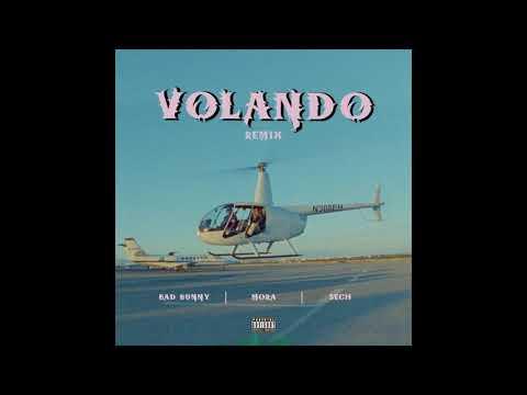 Mora x Nach CL x Bad Bunny x Sech - Volando REMIX (Audio)