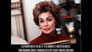 lilli palmer cause of death
