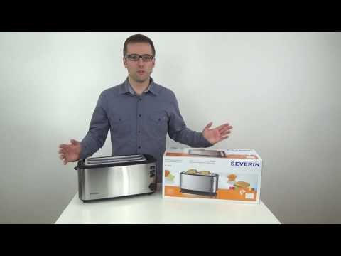 Severin AT 2509 Toaster Test