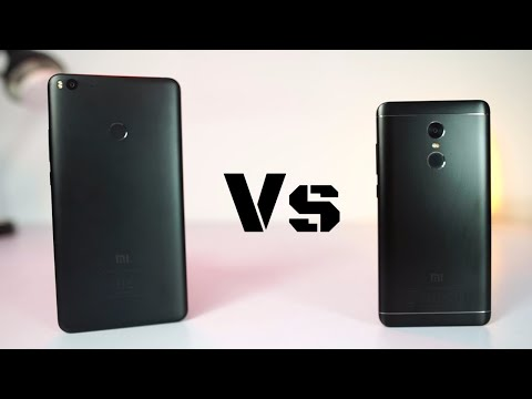 MI Max 2 vs Redmi Note 4 Speed Test and Memory Management Test