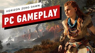 Horizon Zero Dawn: 21 Minutes of PC Gameplay at Max settings (1080p 60fps) by IGN