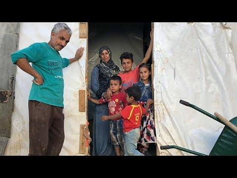 Η ζωή των Σύρων προσφύγων στο Λίβανο
