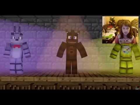 Реакция на видео Just Gold (Minecraft animation) , Survive the night (Minecraft animation) (видео)