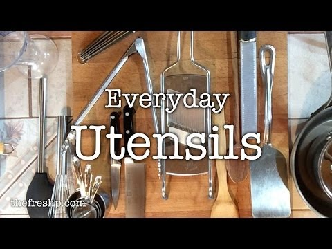 Kitchen Essentials: Utensils, Part I | Fresh P