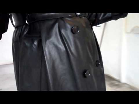 mackintoshes - Rubber knickers/rubber bra/rainboots/and full nylon dress with sbr mackintosh (shrewsbury) over the top just to keep the rain off.with the help of a broom sh...