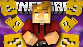 "Minecraft Modded Mini-Game LUCKY BLOCK RACE #5 ""The Decider!"" Modded Mini-Game! w/ Lachlan&Friends"