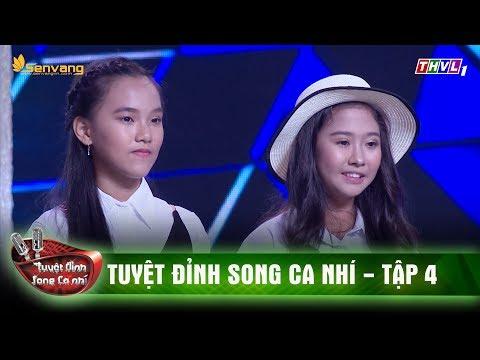 Cặp song ca nhí Hồng Nhung, Ánh Tuyết cháy hết mình với ca khúc 'Trở về đi' | Tuyệt đỉnh song ca nhí