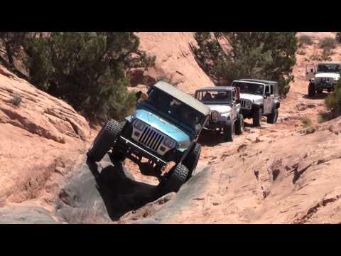 MOAB - Poison Spider Mesa - Moab - Easter Jeep Safari 2012 - Triple Threat.