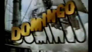 Chamada Domingo Maior -  O Gavião do Mar -  Rede Globo 1989