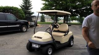 6. 2010 Club Car Precedent - 48 volt w/ dealer installed speed upgrade