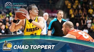Chad Toppert is one of the best 3-point shooters in the Basketball Champions League. Check out his top shots from downtown!