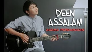 Video Deen Assalam (Agama Perdamaian) Nathan Fingerstyle | Guitar Cover | Guidrum MP3, 3GP, MP4, WEBM, AVI, FLV Agustus 2018