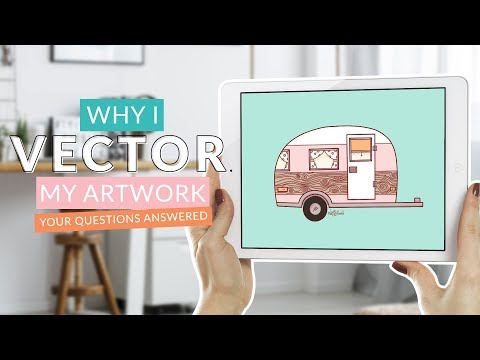 Why I Vector My Work | Why Procreate Isn't My Final Choice For Finished Art