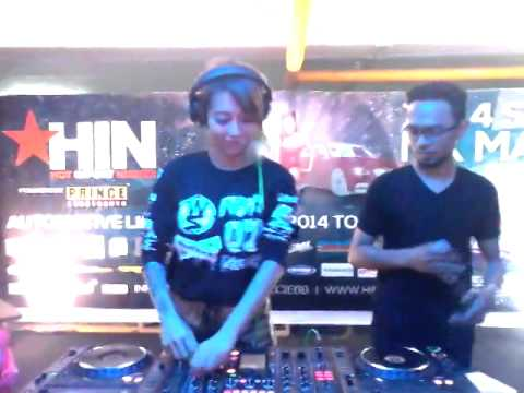 HIN (Hot Import Nights) 2014 On MX Mall Malang, Guest Star : DJ Leng Yein (Malaysia) Ft Iand Pryanto