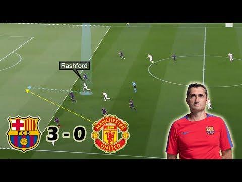 How Barcelona Outclassed Man United | Barcelona vs Man United 3-0 | Tactical Analysis