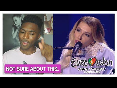Julia Samoylova - I Won't Break - Russia (LIVE) First Semi-Final - Eurovision 2018 REACTION