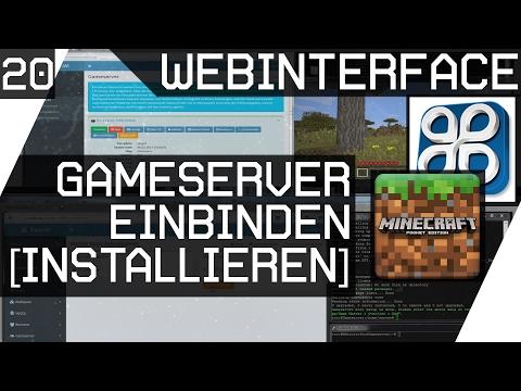 Gameserver ins Easy Wi Webinterface einbinden / installieren [V-Server 20][GER HD]