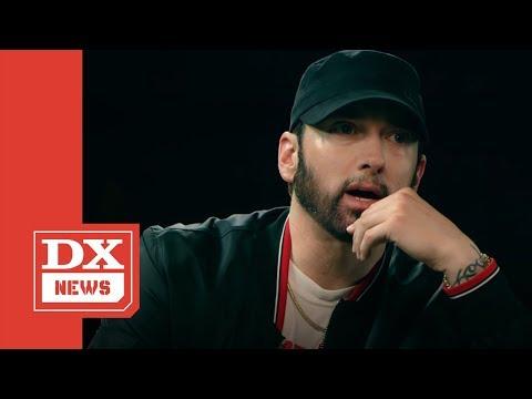 "Eminem's Reaction To Machine Gun Kelly's ""Rap Devil"": ""It's Not Bad... For Him"""