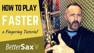 Video How to Play Faster and Make Fewer Mistakes - Saxophone Fingering Tutorial MP3, 3GP, MP4, WEBM, AVI, FLV Desember 2018