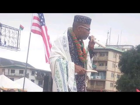 LATEST BIAFRA UPDATE: NNAMDI KANU ''AM BACK, ALL NIGERIA ARMY SHOULD LEAVE  BIAFRA LAND IMMEDIATELY.