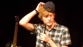 A Baseball Cap Distracts James Acaster